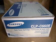 Samsung Cyan Toner Cartridge (CLP-C660B), High Yield) Genuine