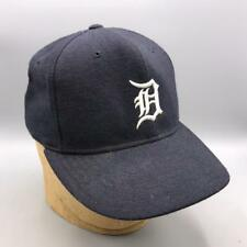 Vintage New Era Detroit Tigers Fitted Baseball Hat Cap 1990's Pro Model 7-1/8