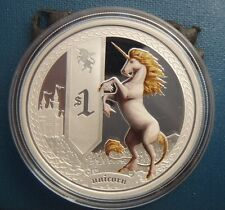 Perth Mint 2013 Mythical Creatures Unicorn 1oz Silver Proof Rare Signed edition!