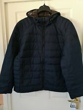 Mens Michael Kors Premium Down Jacket Uk Size XL Colour Midnight Blue New