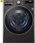 LG WM4200HBA 5.0 Cu. Ft. High Efficiency Stackable Smart Front-Load Washer Black photo