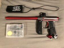 Empire mini GS paintball gun marker black/red great condition full auto