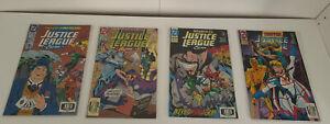 Lot Of 4 DC Justice League International Comics
