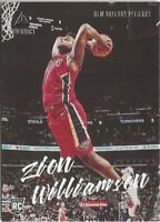 Z3) 2019-20 Panini Chronicles Luminance Zion Williamson RC New Orleans Pelicans