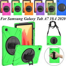 For Samsung Galaxy Tab A7 T500 T505 Case Shockproof Silicone Hard Stand Cover