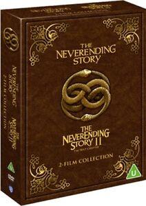 THE NEVERENDING STORY 1 / THE NEVERENDING STORY 2 DVD [UK] NEW DVD