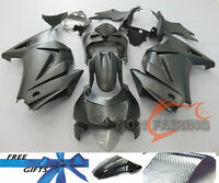 Matte Black Paint Fairing Kit Injection fit for KAWASAKI NINJA 250R 2008-2012