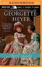 April Lady by Georgette Heyer (2014, MP3 CD, Unabridged)