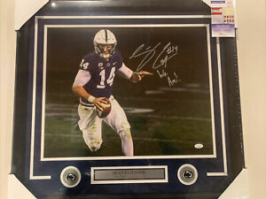Sean Clifford autograph signed Penn State We Are 16x20 Photo Framed JSA