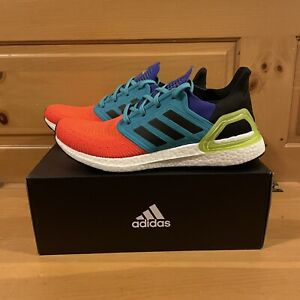 Adidas Men's UltraBoost 20 FV8331 Multicolored Running Shoes Size 10.5