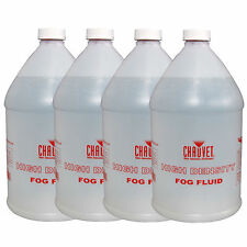 (4) Chauvet Dj Hdf Water Based Fog Machine Fluid/Juice Gallons