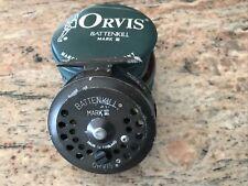 Vintage Orvis Battenkill Mark III 3 fly fishing Reel With Case