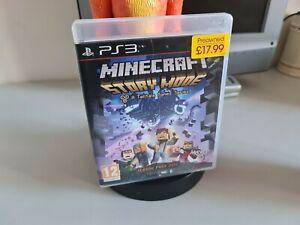 Minecraft Story Mode PlayStation 3 PS3 Boxed No Manual PAL