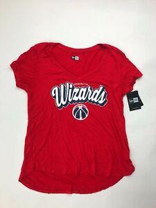 New Era Washington Wizards Womens Large Red White Navy 11632501