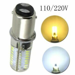 for Sewing Machine 2.6W 3014 64SMD 110/120V BA15D  Crystal Lamp  LED Corn Bulbs