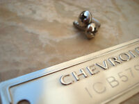 1953 - 1963 CHEVROLET ID TAG DATA PLATE with YOUR VIN NUMBER POLISHED SURFACE