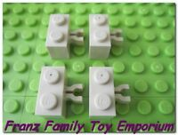 New LEGO Bricks Lot of 4 Tan 1x2 with Clip Castle Ninjago Star Wars Part 30237b