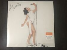 Kylie Minogue Fever White Vinyl LP Sealed Limited Edition Sainsbury's