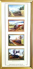 """Davenport Pottery Limited Edition English """"Golden Age of Steam"""" By Malcolm Root"""