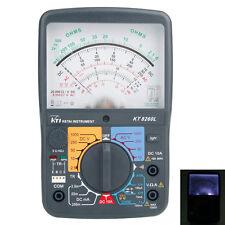 New Kti KT8260L Analog Ammeter Resistance Capacitance Volt AC/DC Multimeter