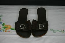 Dolcis Open Toed Brown Sandals Size 5