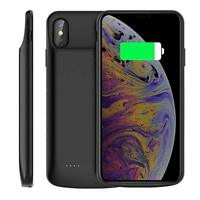 External Battery Back Power Pack Bank Charger Smart Case Cover For iPhone XS Max