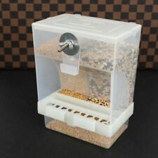 Automatic Birds Feeder Poultry Feeding Fodder Food Container Splashproof Storage