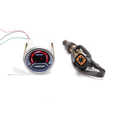 52mm Car Auto Air Fuel Ratio Gauge Smoke Lens GENUINE Narrowband O2 Oxygen Senso