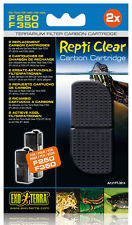 Repti Clear F250 Ersatzfilter - Modell: Ersatz Kohlepatrone