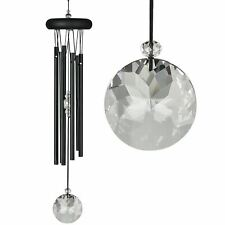 Woodstock Crystal Meditation Chimes - Black