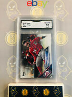2016 Topps Bryce Harper #100 - 10 GEM MINT GMA Graded Baseball Card
