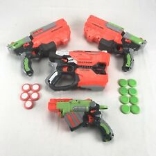 Bulk Lot Nerf Guns Disc Shooters Diatron Vigilon Bullets All Working Excellent