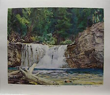 "W. J. Phillips Group of Seven friend LTD art print ""Woodland Waterfalls"""