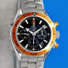 Ladies Omega Seamaster Planet Ocean Co-Axial Chronometer Chronograph watch