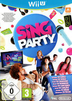 Jeu nintendo WiiU Wii U - Sing party (Inclus 50 chansons) Karaoké