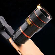 Universal Klammer Kamera Handy Linse 8x Optisches Zoomobjektiv Teleskop Objektiv