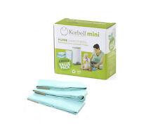 Brand new in box Korbell nappy bin refills mini 9 litre bin 3 x refills
