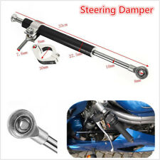 Universal Adjustable 330mm Motorcycle Aluminum Steering Damper Stabilizer Linear