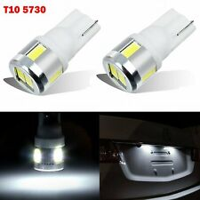 JDM ASTAR 2x T10 White 5730 SMD 194 168 W5W SMD LED Car Inteiror Map Light Bulbs