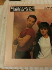"""LISA LISA & CULT JAM WITH FULL FORCE GO FOR YOURS 12"""" SINGLE CADDYSHACK 2 (1988)"""