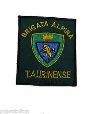 Patch Alpini Brigata Alpina Taurinense Esercito Italiano Toppa Stemma Militare