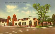 1939 INDIANAPOLIS IN Cadle Tabernacle for Evangelists postcard