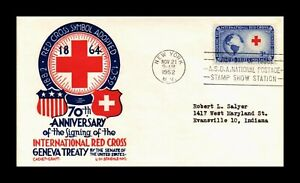 DR JIM STAMPS US INTERNATIONAL RED CROSS FIRST DAY ISSUE CACHET CRAFT COVER