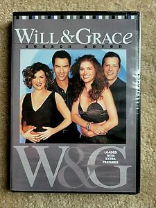 Will and Grace - Season 7 (DVD, 2007, 4-Disc Set) • New & Sealed