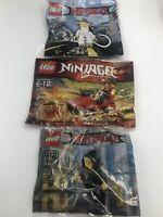 Lego 30293 Ninjago Kai Drifter Promo Polybag Lego Store Exclusive 30609 Lot