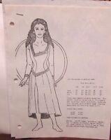 Star Trek TNG Next Generation DEANNA TROI Uniform Sewing Pattern Sz 4/5 to 13/14