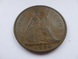 Rare 1950 Penny Coin. 99p start.