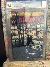 MARVEL COMICS PRESENTS #77 CGC 9.8 ! WEAPON X STORY ! WHITE PAGES TOUGH BOOK !
