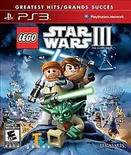 Lego Star Wars 3 III The Clone Wars PS3 Sony PlayStation 3 - FREE SHIPPING