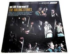 The Rolling Stones  Got Live If You Want It 1966  London PS 493 Stereo  Rock  VG